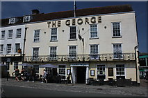 TL9925 : The George Hotel, 116 High Street, Colchester by Jo Turner