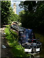 SE1338 : Narrowboats moored along the Leeds and Liverpool Canal by Mat Fascione