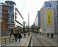 SJ8398 : Corporation Street from Exchange Square by Gerald England
