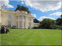 TQ2782 : The Holme from its lawn by David Hawgood