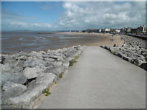 SD4364 : Morecambe, slipway by Mike Faherty
