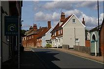 TM2649 : Theatre Street, Woodbridge by Christopher Hilton