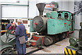 SK2406 : Statfold Barn Railway - Unrestored Mallet locomotive by Chris Allen