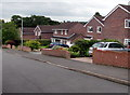 SO3016 : Brick houses, Poplars Road, Mardy by Jaggery