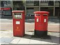 TQ3282 : ELizabeth II postboxes on Old Street, London EC1 by JThomas