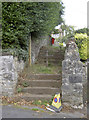ST5058 : Footpath to Blagdon Combe by Neil Owen