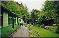 NY8261 : Former Langley (Northumberland) station as Garden Centre, 2000 by Ben Brooksbank