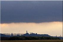 NT2674 : Calton Hill, Edinburgh, from Morrison's Haven, Prestonpans by Mike Pennington