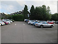 NY3704 : Car park, Ambleside by Hugh Venables