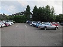 NY3704 : Car park, Ambleside by Hugh Venables