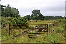 NJ8018 : Muddy access by Beechfield Cottage by Alan Reid
