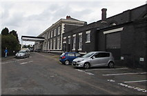 SO8555 : Worcester Shrub Hill railway station approach by Jaggery