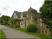 SK4338 : Manor House and Abbey House, Dale Abbey by Alan Murray-Rust