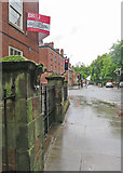 SK3436 : Derby: a wet summer morning in Friar Gate by John Sutton