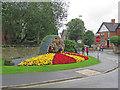 SK3447 : Belper: floral display by John Sutton