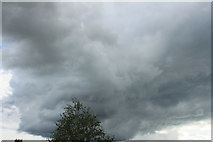 NX9575 : Black Cloud over Dumfries by Billy McCrorie