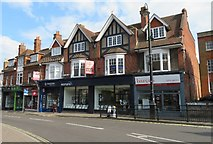 SU6351 : Estate agents on Winchester Square by Sandy B
