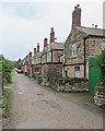 SK3447 : Belper: William Street - backs and stacks by John Sutton