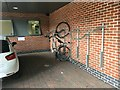 SK5237 : Bike rack at The Quadrant office block by David Lally