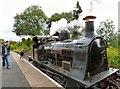 SJ9542 : Bellerophon on the  Foxfield Railway by Gerald England