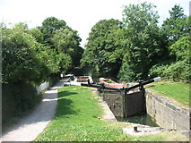 SO8104 : Locks on the Stroudwater Canal by David Purchase