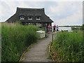 TG3515 : Ranworth Broad visitor centre by Hugh Venables