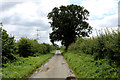 SE7060 : Narrow Lane heading South towards Sand Hutton by Chris Heaton