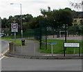 ST2995 : Victoria Street/Heol Buddug name sign, Cwmbran by Jaggery
