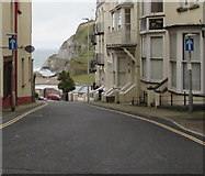 SS5247 : One-way traffic signs, Sommers Crescent, Ilfracombe by Jaggery