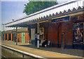 TQ1656 : Leatherhead station, Up side platform. 2011 by Ben Brooksbank