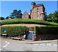SS9646 : Grade II listed Elgin Tower, Minehead by Jaggery