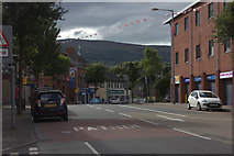 J3274 : Shankill Road, Belfast looking west from Lawnbrook Avenue by Robert Eva