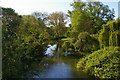 SP5107 : View downstream from High Bridge over the Cherwell, University Parks by Christopher Hilton