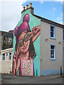 "NS4863 : The ""Buddie"" mural on Storie Street by Thomas Nugent"