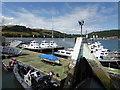 SX8752 : Britannia Royal Naval College - training vessels by Chris Allen
