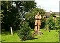 SK4641 : Statue of Samuel Taylor, Stanton Road, Cemetery, Ilkeston by Alan Murray-Rust