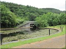 SN8001 : Canal Basin and Road Bridge by David Tyers