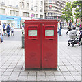 SJ3490 : Postboxes, Liverpool by Rossographer