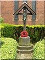 SK4134 : World War 1 memorial, St Stephen's Church, Borrowash by Alan Murray-Rust