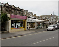 SS5147 : Belgrave Promenade businesses, Wilder Road, Ilfracombe by Jaggery