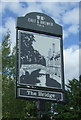 TL5064 : Sign for the Bridge public house, Clayhithe by JThomas