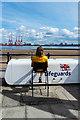 SJ3194 : Lifeguard, New Brighton Promenade by Matt Harrop