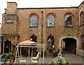 SK4433 : Draycott Mills, courtyard by Alan Murray-Rust