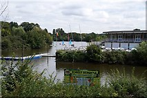TQ1672 : Watersports centre at Ham Lands by Mike Pennington