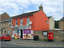 TL4567 : Convenience store and Post Office on High Street, Cottenham by JThomas