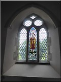 SS9708 : East window, north aisle, St Matthew's, Butterleigh by David Smith