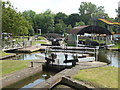 SO8071 : Locks and dry dock, Stourport by Chris Allen