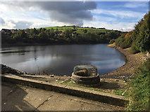 SE0714 : Slaithwaite or Hill Top Reservoir, Slaithwaite by Robin Stott