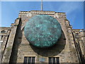 """SD6827 : """"The Healing of the Nations"""" Globe at Blackburn Cathedral by David Hillas"""