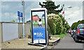 J3775 : Railway trespass advertising, Sydenham, Belfast (August 2017) by Albert Bridge